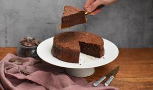 Fondant chocolat et caramel beurre salé