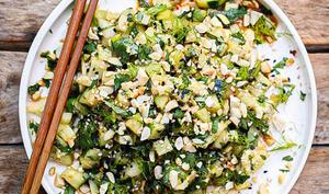 Salade de fenouil et concombre