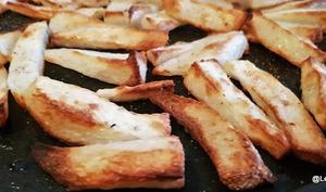 Frites d'igname