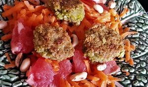 Salade de carottes au pamplemousse à la camerounaise