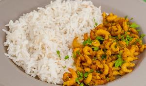 Crevettes marinées au miel et épices cajun