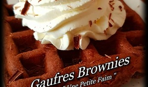 Gaufres brownies