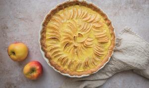 Tarte aux pommes toute simple