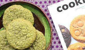 Cookies au thé matcha et à l'avoine