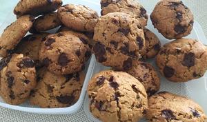 Cookies Vegan aux pépites de chocolat et noix