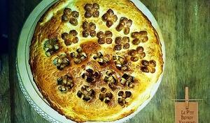 Tarte pommes, poires, mûres et Cuor di Cannella