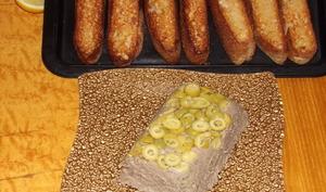 Pâté ou Mousse de foie de volaille au thym et aux olives