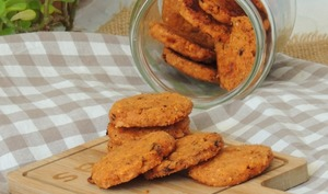 Biscuits sablés chorizo paprika cheddar