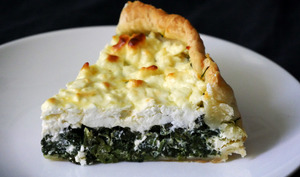 Quiche épinards feta