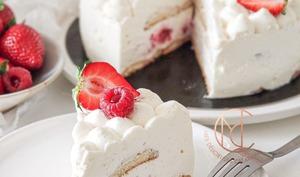 Nuage fraise framboise