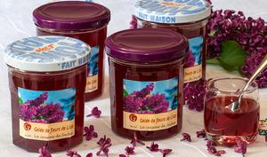 Gelée de fleurs de lilas