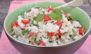 Salade de poisson de l'île Maurice