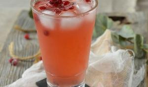 Cocktail sans alcool aux cranberries et citron vert
