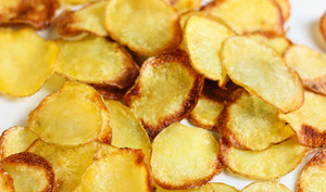 Chips au four maison