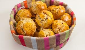 Buns, biscuits britanniques