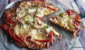 Pizza low carb avec pâte Energus10