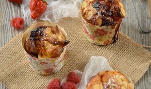 Muffins fruits rouges et chocolat blanc