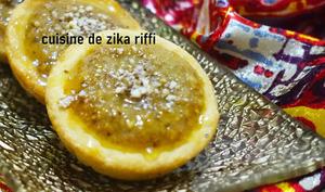Tartelettes aux noix et au miel d'acacia