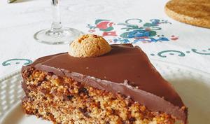 Gâteau de vieux pain et amaretti