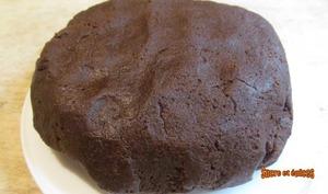 Pâte sablée aux amandes et cacao