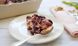 Tiramisu aux cerises à la fève tonka