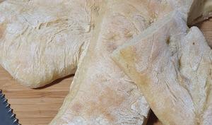Le pain ciabatta