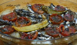 Sardines au four à la bônoise