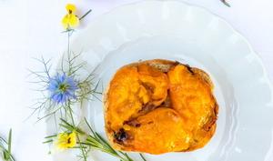 Bruschetta aux abricots rôtis
