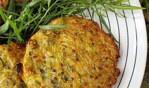 Galettes Quinoa, Courgettes