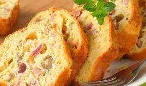 Cake jambon et olives