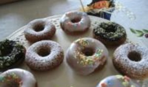 Donuts Vanillés