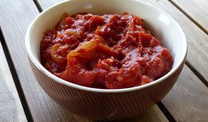 Frita aux poivrons et tomates