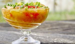 Cuisine acido-basique : tomates, concombre, pastèque