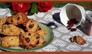 Biscuits Canadien aux cranberries