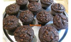 Muffins corsés au chocolat