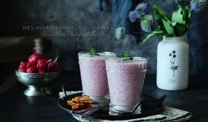 Soupe froide aux radis