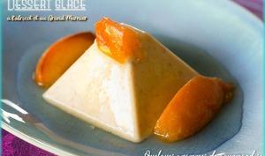 Dessert glacé à l'abricot et au Grand-Marnier
