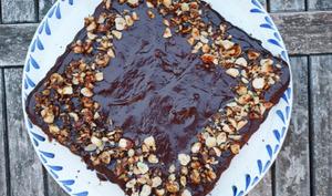 Gâteau chocolat noisette à tomber par terre