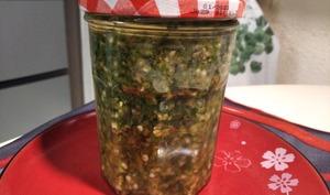 Pâte de piments vert