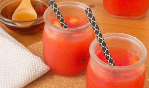Limonade fraises et érable