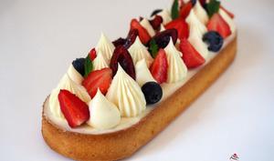 Tarte Vanille Fruits Rouge