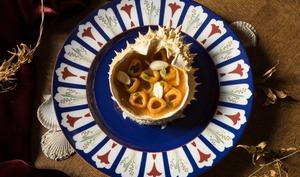 Tortellini de moussette au consommé