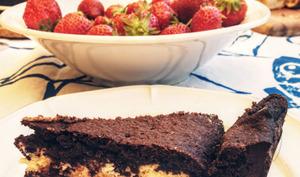 Gâteau au chocolat et à la crème de mascarpone