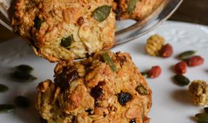 Biscuits aux céréales, fruits secs et figues