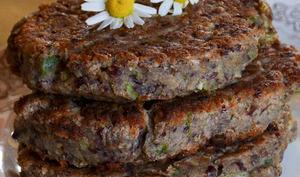 Galettes de haricots rouges aux épices pour veggie burger