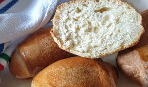 Petits pains à l'huile avec excès de levain