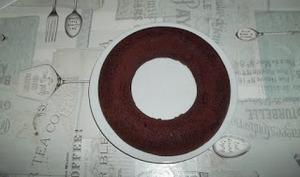 Gâteau au chocolat en couronne