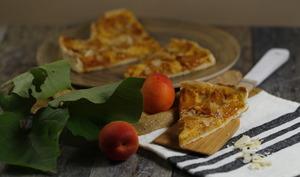Tarte à la compotée d'abricots vanillés