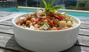 Salade de pois chiches à la feta