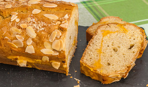 Gâteau du matin à la crème d'abricot